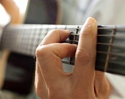 to play worship songs on the guitar